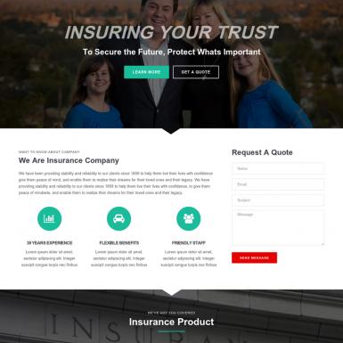 Insurance company example