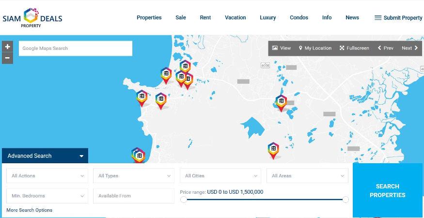 Luxury Phuket Properties Open Website